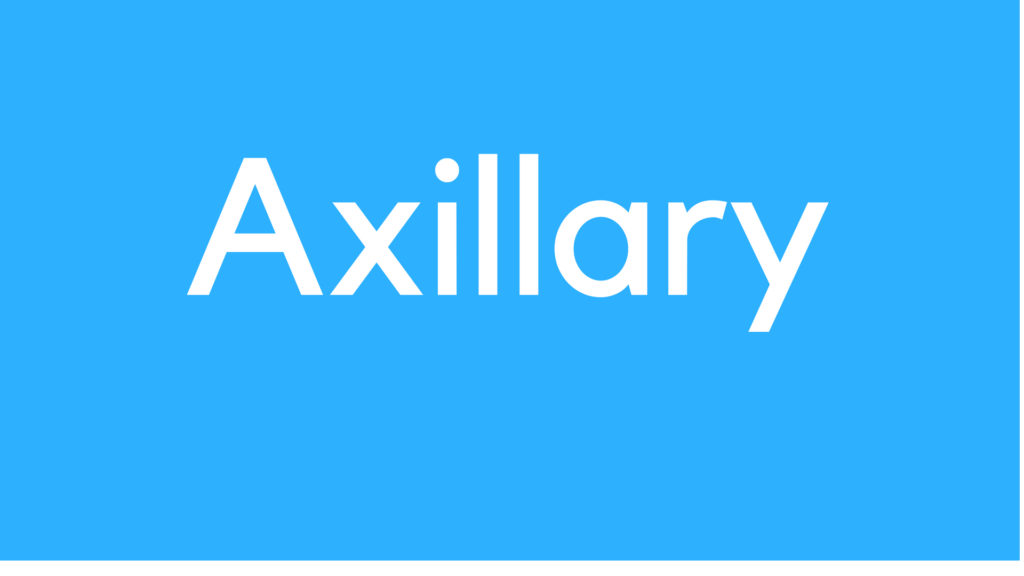 Medical Definition of Axillary