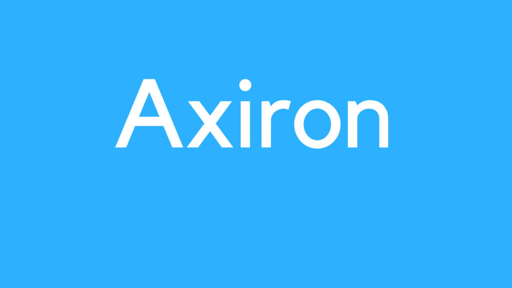 Medical Definition of Axiron
