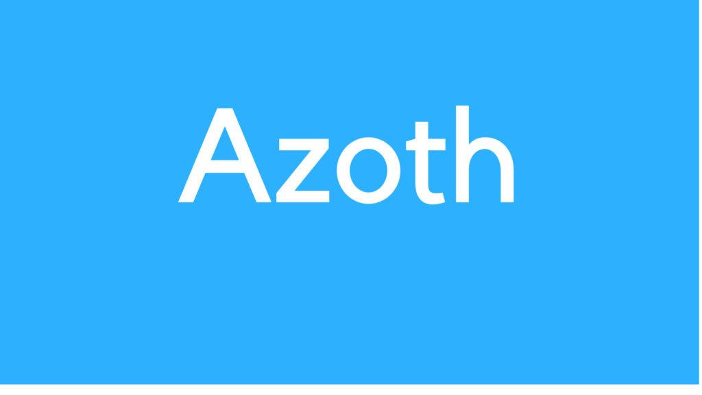 Medical Definition of Azoth